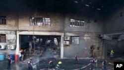 馬尼拉鞋廠火災現場