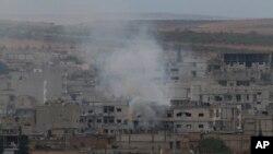 Suriyaning Kobani shahrida janglar