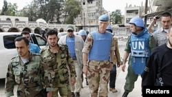 Tawagar masu sa ido na Majalisar Dinkin Duniya a Siriya