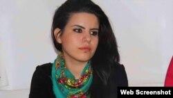 زهرا دوان، نقاش و روزنامهنگار کردترکیه The Voice Project Photo