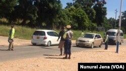Police In Chinhoyi Covid-19 Clampdown