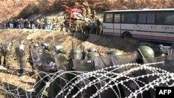 Протистояння в районі кордону між Косовом і Сербією