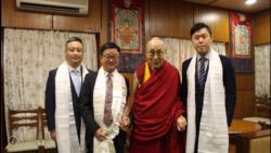 台湾民进党秘书长罗文嘉首次以政党身份拜会达赖喇嘛