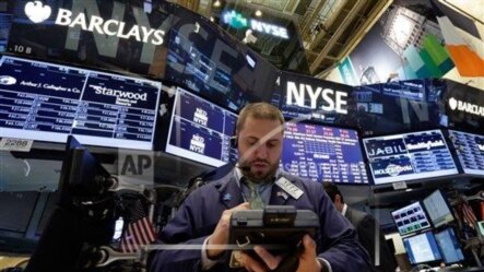 纽约证券交易所交易厅