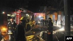 Пожежа у в'язниці в місті Комаягуа в Гондурасі