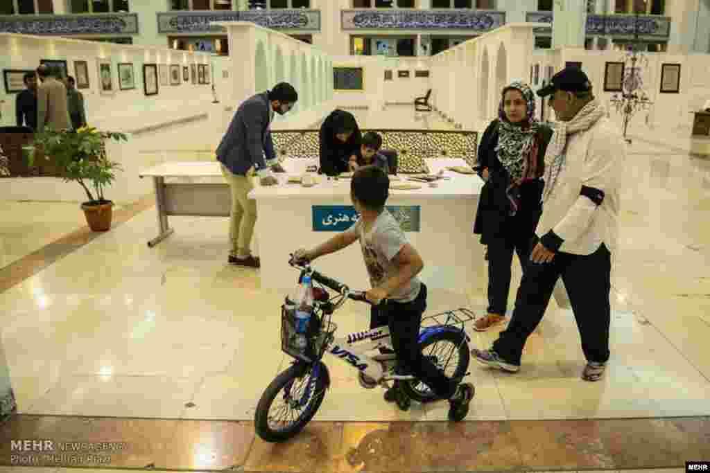 نمایشگاه قرآن در تهران عکس: مهران ریاضی