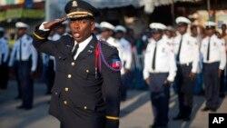 Yon seyans egzèsis Polis Nasyonal d Ayiti