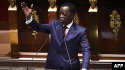 Mutungamiri wePan African Parliament VaRoger Nkodo Dang.