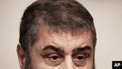 图为埃及穆斯林兄弟会推出的总统候选人沙特尔资料照
