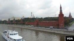 莫斯科克里姆林宫。开发远东,克里姆林宫的智慧已经用光 (美国之音白桦)