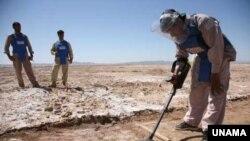 ځيني د پرسونل ضد ماینونه تقریباً ۳۵ کاله وړاندې په افغانستان کې ښخ شوي
