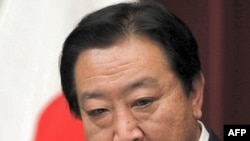Thủ tướng Nhật Yoshihiko Noda nói chuyện tại một cuộc họp báo ở Tokyo hôm 13/1/12