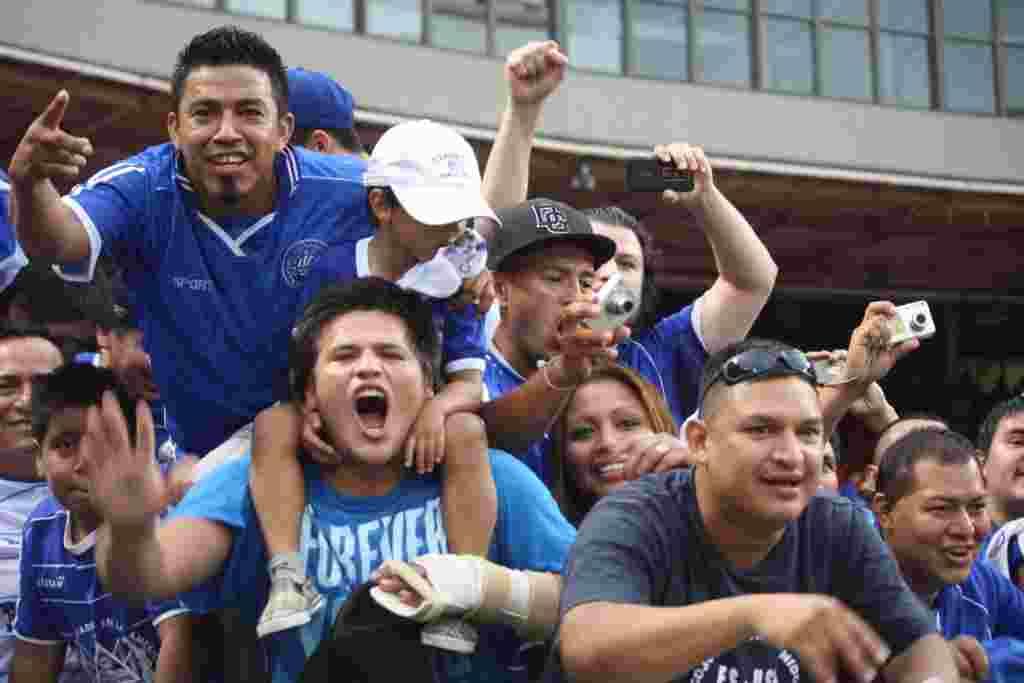 Fiesta venezolana salvadoreña