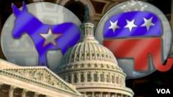 Demócratas y Republicanos luchan por el control del Congreso y el Senado.