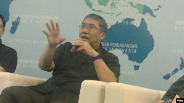 Wakil Menteri Perdagangan Bayu Krisnamurthi. (VOA/Iris Gera)