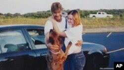 麦德林夫妇和他们的爱犬Avery