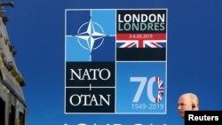 지난해 12월 영국 런던에서 나토 정상회의가 열렸다.