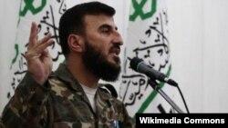 Захран Аллуш, лидер группировки «Джейш аль-Ислам»
