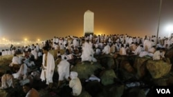 Arabi Sawoudit: Pèlerinaj Hajj la Rive sou 3èm Jou Li