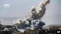 Imagem de arquivo da guerra na Síria