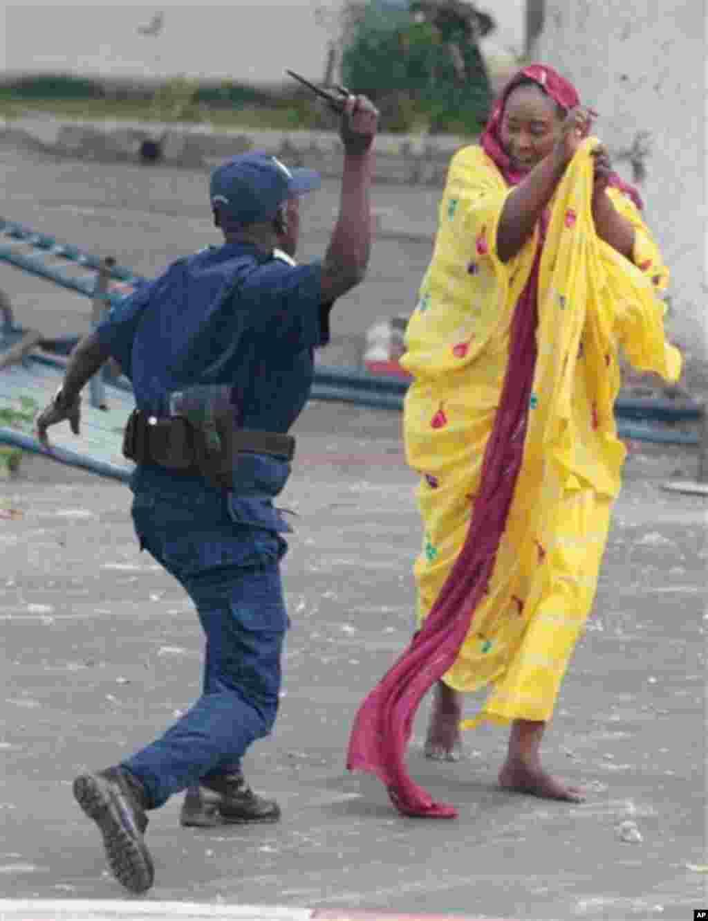 Zanga-zangar kin gwamnati a Senegal.