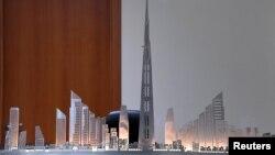 Rencana pembangunan menara Jeddah dan pusat perbelanjaan di kantor Jeddah Economic Company (foto: ilustrasi).