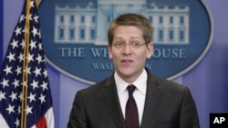 Ο εκπρόσωπος του Λευκού Οίκου, Τζέι Κάρνυ