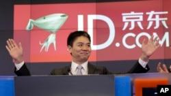 资料照:中国电子商务巨头--京东首席执行官刘强东