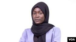 Maguette Niang, une Sénégalaise qui se fait remarquer du haut de ses 24 ans, à Dakar, le 17 mars 2021.