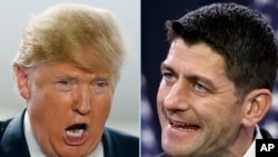 Donald Trump et Paul Ryan.(AP Photo/Kiichiro Sato, File)