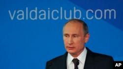 د روسیې جمهور رئیس ویلادیمیر پوتین