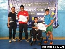 Panitia berharap pemain berkualitas di ajang ini bisa menjadi atlet disabilitas di masa depan (foto: VOA/Rio Tuasikal)