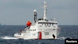 Tàu tuần duyên của Trung Quốc trong khu vực Biển Đông, ngày 13/6/2014.