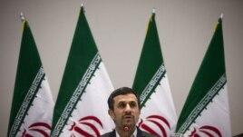 Iranian President Mahmoud Ahmadinejad (June 21, 2012 file photo)
