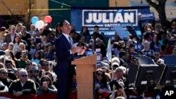 Ông Julian Castro, 44 tuổi, là người thứ hai chính thức khởi động chiến dịch tranh cử trong một cuộc đua mà có phần chắc sẽ trở nên đông đúc.