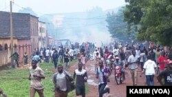 En images : manifestation de soutien à Rasbath à Bamako