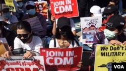 Civil Disobedience Movement (CDM)
