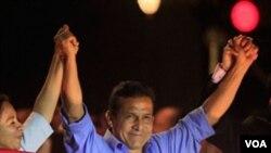 Ollanta Humala memenangkan pilpres di Peru dengan selisih angka tipis (6/6).
