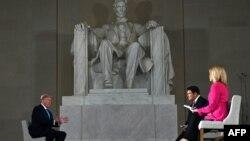 Intervistë për Fox News tek Përmendorja e Linkolnit