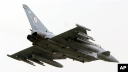 영국의 '타이푼'전투기. (자료사진)