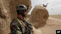 Soldat des forces spéciales américaines en Afghanistan, le 16 septembre 2009.