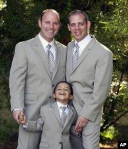 杰夫、安德鲁与儿子 乔希
