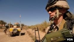ქართველი ჯარისკაცი ერაყში, 2008 წლის მარტი