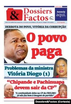 Dossiers&Factos, Jornal, Moçambique