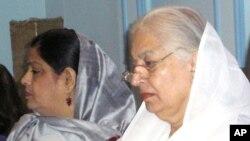 صوبائی وزیر توقیر فاطمہ بھٹو پنجاب کی خاتون وزیر کے ہمراہ
