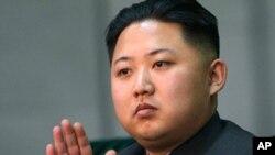 北韓准接班人金正恩(資料照片)