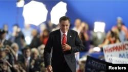 Mitt Romney à la Convention de son parti à Tampa, en Floride
