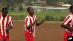 Sports programs in Kenya's Rift Valley seek to build trust by teaching the value of teamwork