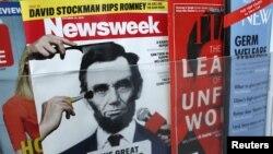 Majalah Newsweek edisi cetak akan terbit terakhir kalinya pada 31 Desember. (Foto: Reuters/Carlo Allegri)