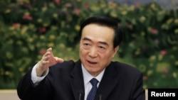 Chen Quanguo, secretário do PCC em Xinjiang